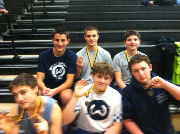 Warriors at Trumbull's JV Tournament - 12/15/12